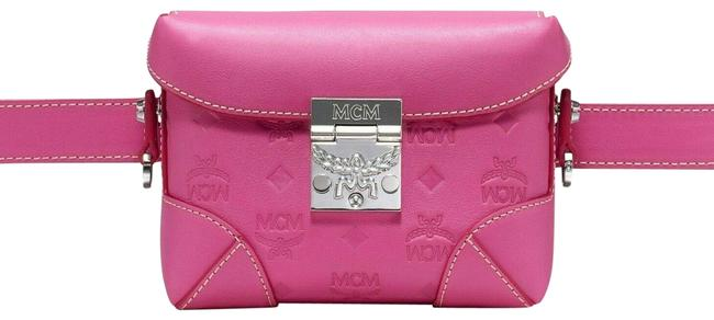 Item - Belt Berlin Mwz9abf26qs001 Hot Pink Leather Cross Body Bag