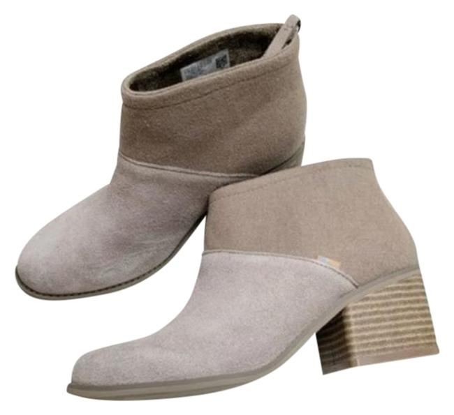 Item - Cream Lacy In Desert Taupe Suede Boots/Booties Size US 7.5 Regular (M, B)
