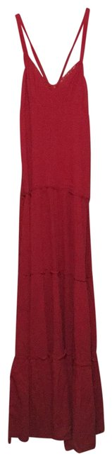 Item - Red 3854681 Long Casual Maxi Dress Size 8 (M)
