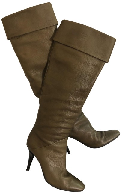 Item - Olive Made In Italy Boots/Booties Size US 7.5 Narrow (Aa, N)