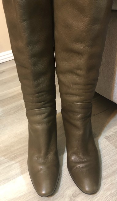 Giuseppe Zanotti Olive Made In Italy Boots/Booties Size US 7.5 Narrow (Aa, N) Giuseppe Zanotti Olive Made In Italy Boots/Booties Size US 7.5 Narrow (Aa, N) Image 3