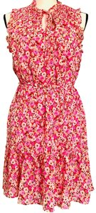 Gypsies & Moondust short dress pink, red, white and yellow on Tradesy