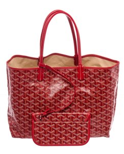Goyard Tote in Red