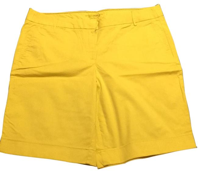 Item - Yellow Summer Weight Chinos Shorts Size 12 (L, 32, 33)