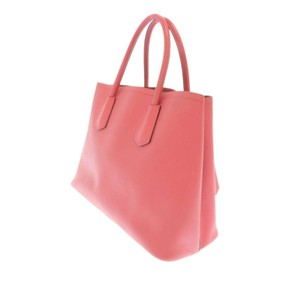 Prada Grj0fprst002 Vintage Leather Satchel in Pink
