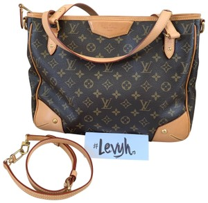 Louis Vuitton Tote in Brown, Beige