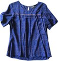 acote Top Blue with design