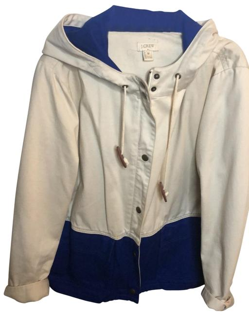 Item - Royal Blue and Cream Jacket Size 8 (M)