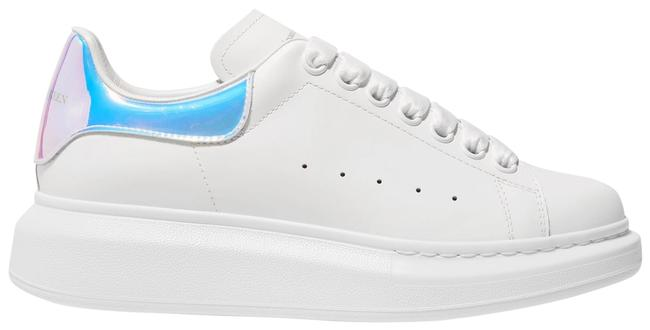 Item - White/Pearlescent Eu38.5/39/39.5/40/41 Oversized Sneakers Size EU 38.5 (Approx. US 8.5) Regular (M, B)