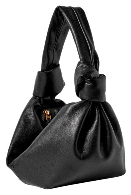 Bottega Veneta Jodie Mini Knotted Leather Pouch Hobo Bag Bottega Veneta Jodie Mini Knotted Leather Pouch Hobo Bag Image 1