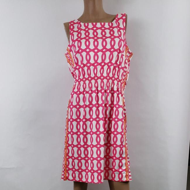 Item - Pink and Orange Short Casual Dress Size 8 (M)