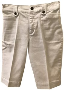 French Dressing Jeans 12 Inch Length Bermuda Shorts White