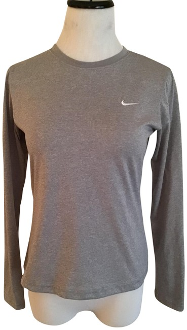 Item - Grey Fit Dry Activewear Top Size 4 (S)