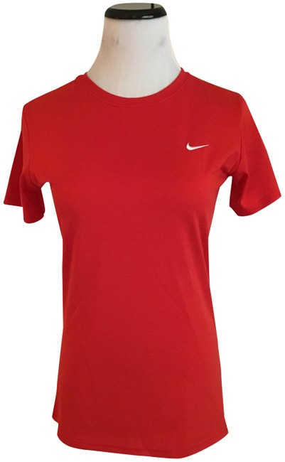 Item - Red Drifit Activewear Top Size 4 (S)