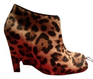 Christian Louboutin Bootie Boot multicolor leopard print Boots