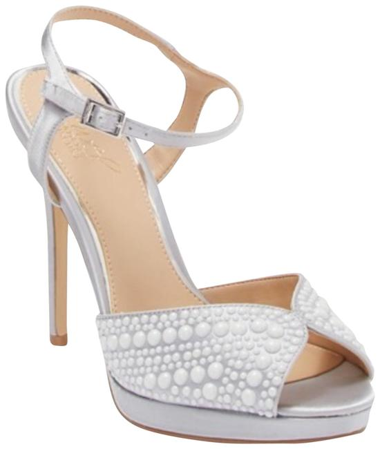 Item - Silver Jewel Editions Formal Shoes Size US 10 Regular (M, B)