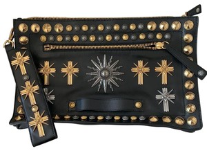 Fausto Puglisi black Clutch