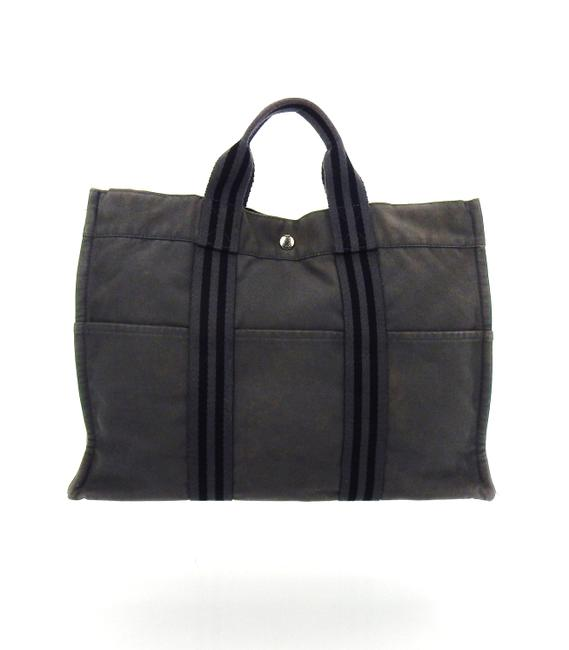 Item - Fourre Tout Mm Gray Canvas Tote