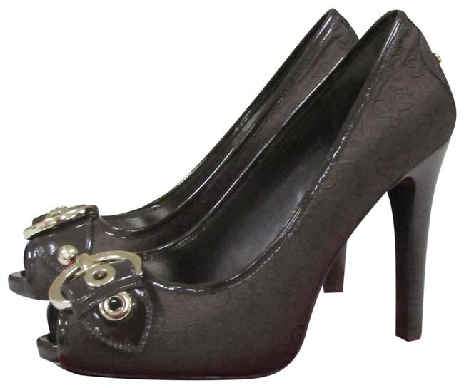 Item - Chocolate Brown Pumps Size US 7.5 Regular (M, B)