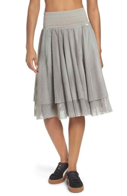 Item - Gray En Pointe A-line Layered Mesh Skirt Size 4 (S, 27)