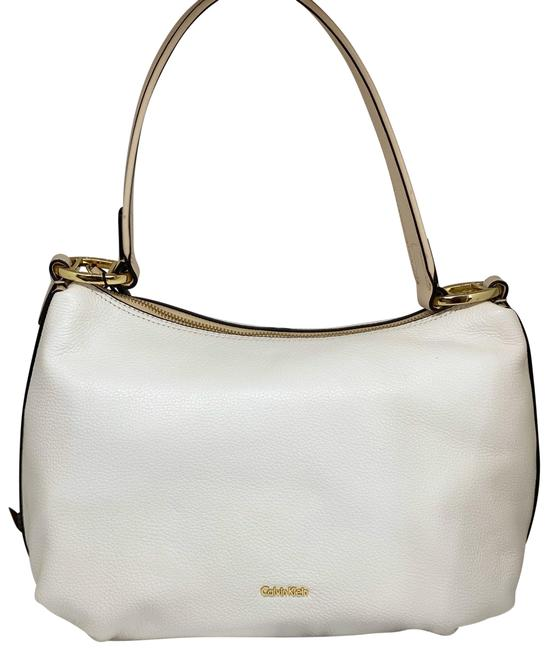 Item - Holly Pebble Leather White Hobo Bag