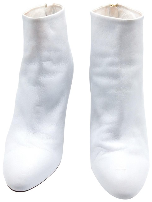 Item - White Boots/Booties Size EU 41 (Approx. US 11) Regular (M, B)
