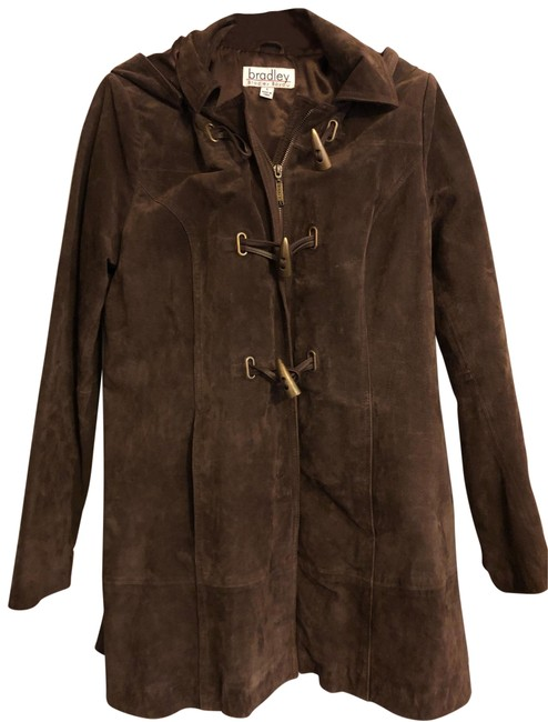 Item - Chocolate Brown Coat Size 6 (S)