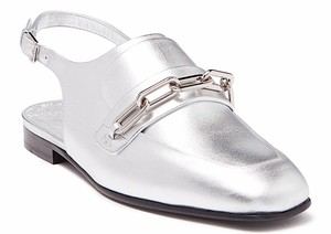 Burberry silver new Mules