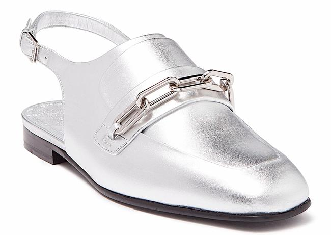 Item - Silver New Chewltown Leather Loafer Mules/Slides Mules/Slides Size EU 38.5 (Approx. US 8.5) Regular (M, B)
