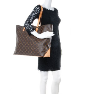 Louis Vuitton Cabas Alto Tote in Brown