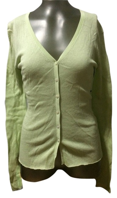 Preload https://item4.tradesy.com/images/autumn-cashmere-pale-green-cardigan-size-4-s-2754073-0-0.jpg?width=400&height=650