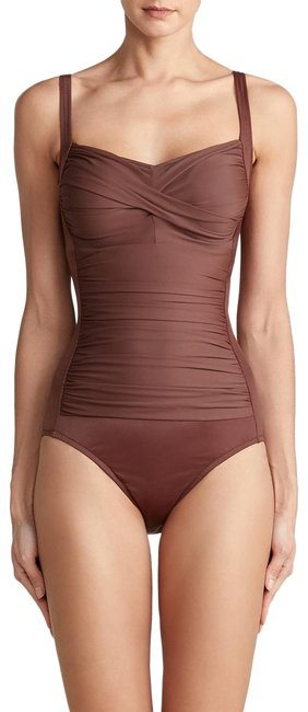 Item - Brown Avery One-piece Bathing Suit Size 14 (L)