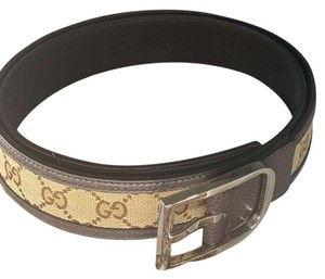 Gucci gucci canvas men belt