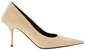 Item - Square Knife Leather Pumps