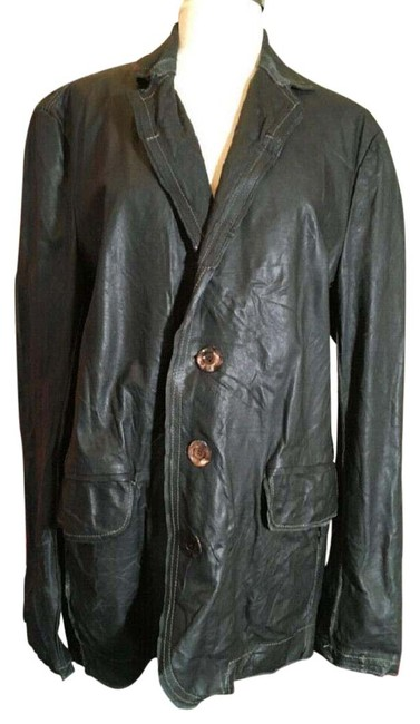 Item - Black Distressed Jacket Size 10 (M)
