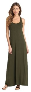 combat Maxi Dress by Michael Stars Maxi Army Green Scoop Neck