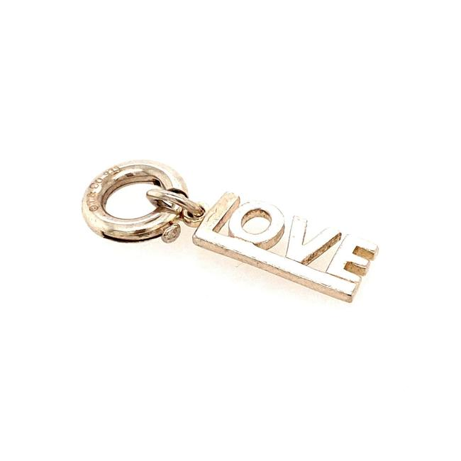 Item - Silver T Love with Jump Ring Charm