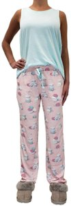 Munki Munki Spring Summer Rayon Cotton Relaxed Pants Multicolor