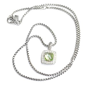 David Yurman GORGEOUS!! LIKE NEW!! David Yurman Albion Prasiolite Necklace