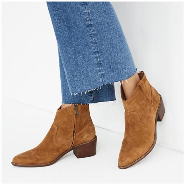 Item - Brown The Hailie Suede Ankle Boots/Booties Size US 7.5 Regular (M, B)