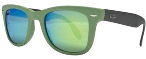 Ray-Ban Green Lens RB4105 602119 50mm Unisex Rectangular