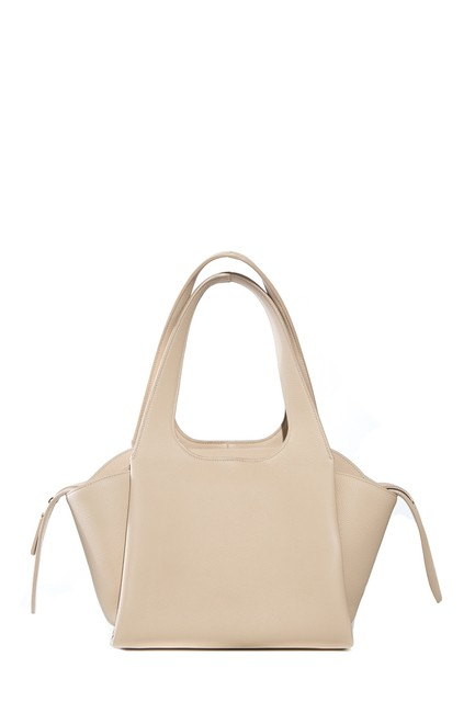 Item - For One Leather Beige Satchel
