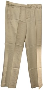 New Frontier Trousers Straight Pants Ivory