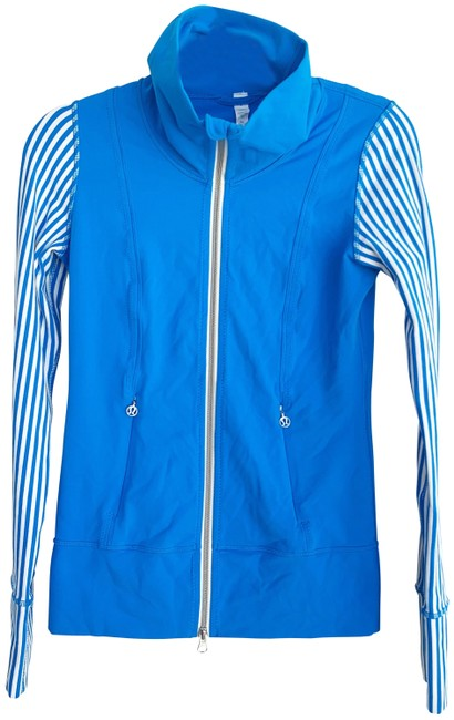 Item - Blue Daily Yoga Activewear Outerwear Size 2 (XS)