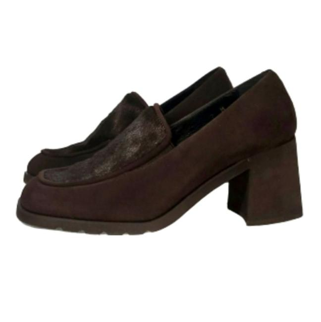 Item - Brown Featherweight Loafer Pumps Size US 7 Regular (M, B)