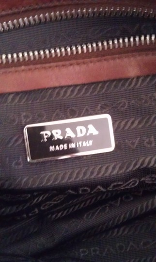Prada Leather Classic Shoulder Bag