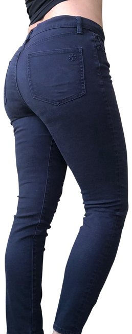 Item - Blue Coated Skinny Jeans Size 4 (S, 27)