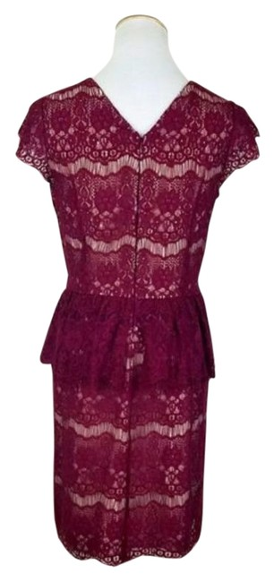 Item - Red Maeve Elsa Mid-length Short Casual Dress Size 2 (XS)