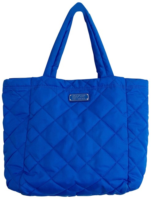 Item - Bag Crosby Quilted Blue Nylon Tote