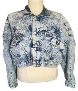 Unravel Project Trucker Womens Jean Jacket